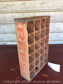 Pepsi Wooden Crate