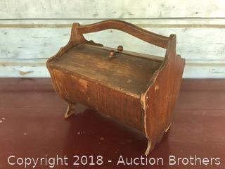Antique Sewing Box.
