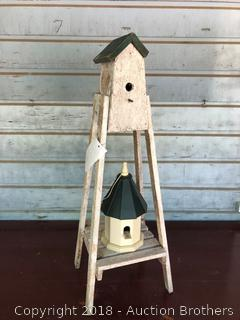 Bird Houses and Feeder