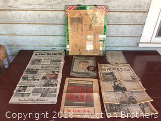 Vintage News Paper