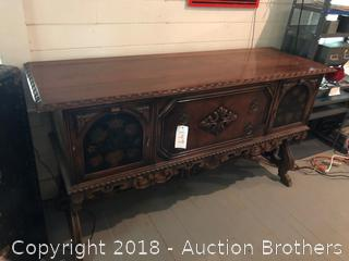 Antique Dining Room Buffet.