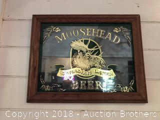 Moosehead Beer Sign