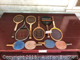 Tenis Rackets,Ping Pong