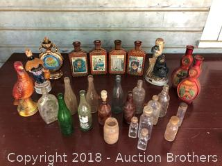 Vintage Glass Bottles and More