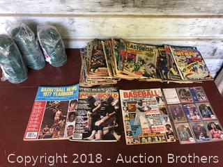 Comic Books Collector Cards and more