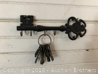 Vintage Keys With Hanger