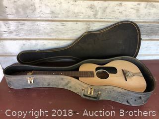 Vintage Harmony Stella Guitar