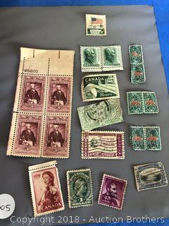 Vintage Stamp Lot