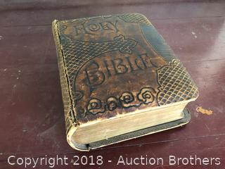 1890 Leather Bound Bible