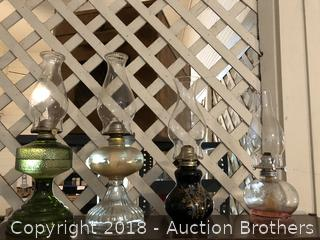 Beautiful Vintage Oil Lamps