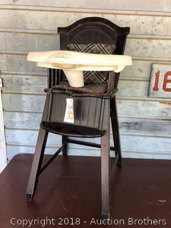 Kids Wood Eddie Bauer Highchair