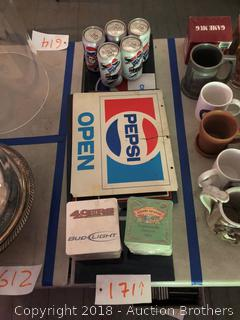 Pepsi Signs And More.