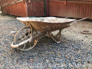 Antique Wheel barrel
