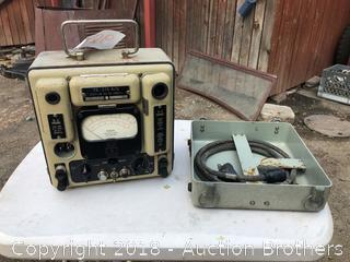 Antique Voltmeter