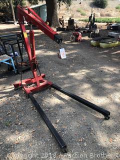3 Ton Capacity Long Ram Jack