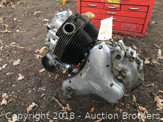 BSA Motorcycle Engine