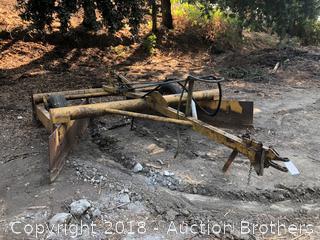 Custom Hydraulic Pull Ridger.