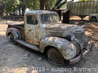 Rare 1939 Plymouth