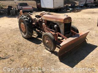 Ford Tractor With BuzzSaw