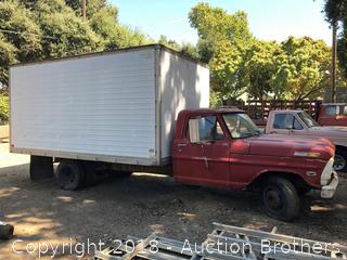 Ford 350 Box Truck