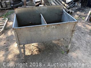 Metal Sink-Wash Tub