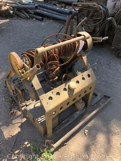Military Style Chain Driven Winch