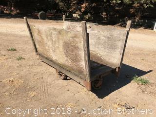 Antique Fruit Cart