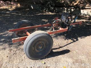 Farm Trailer With Motor