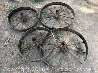 Four Iron Wheels