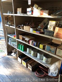 Five Shelves of Parts