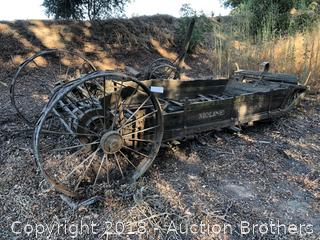 Hay Wagon - Moline, Illinois
