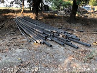 Black PVC Piping