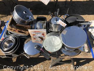 Pans, Pots, Bowls and Baking Sheets