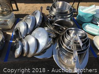 Pots Pans Lids And More