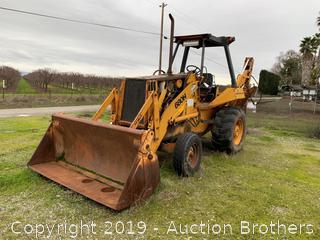 Construction King 680H Case Backhoe