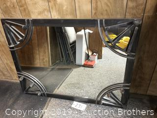 Custom Made Rail Road mirror