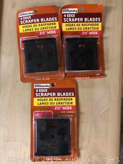 New 4 Edge Scrapper Blades