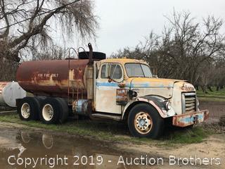 GMC 750 Water Truck