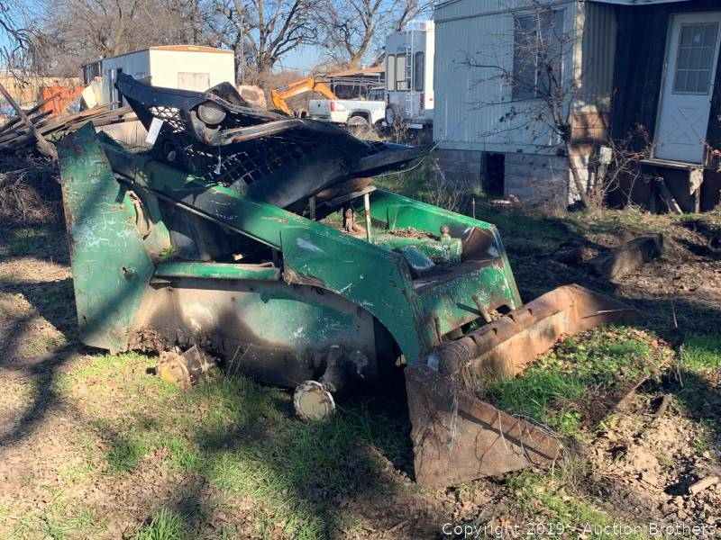 Bobcat Parts Online >> Auction Brothers Auction Chico Equipment Auction Item Bobcat Parts