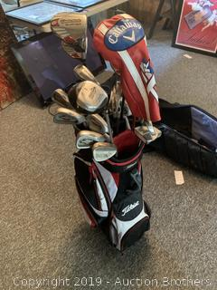 Callaway/Taylor Made Golf Set