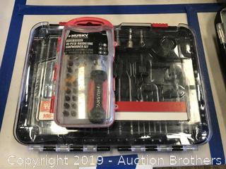 100 piece Drill & Driver Bit Set and more