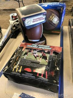 Football Mega Phone, Flag Football Kit, Basketball