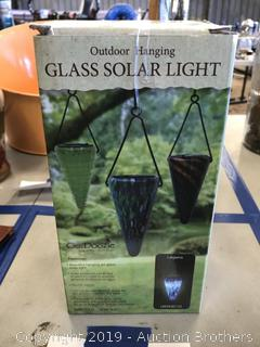 Glass Solar Light