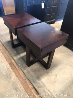 Beautiful Wood End Tables