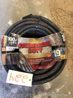 New 100 Foot Hose 5/8 in