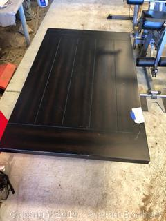 Black Wood Coffee Table