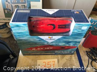 New RC Boat BlackJack 9