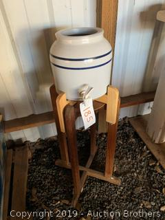 Jug dispenser and stands