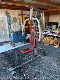 Weider workout machine