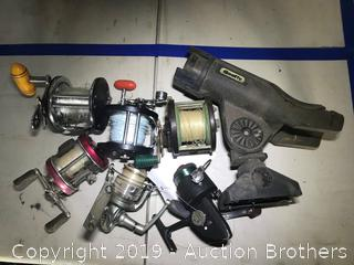 Fishing reels and more
